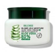 Увлажняющий крем с алоэ BLUMEI Jeju moiture aloe vera cream 100 г: фото